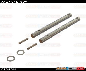 OXY4 Tail Shaft, 2Pcs