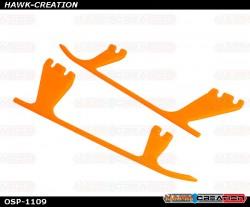 OXY4 Landing Gear Skid, Orange