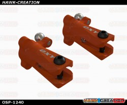 OXY3 OXY4-Tail Grip,Orange-2 Pc