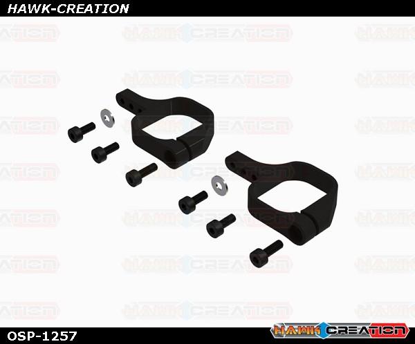 OXY4 CNC Tail Servo Mount, Black