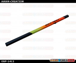 OXY4 MAX Yellow-Orange Painted Tail Boom