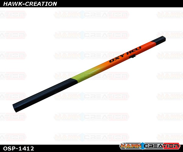 OXY4 MAX Yellow-Orange Painted Tail Boom