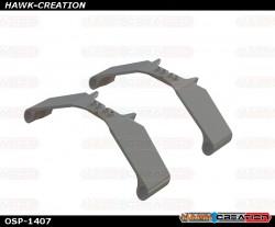 OXY5 - Plastic Landing Gear Strut, White