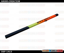 OXY5 - Tail Boom STD Lenght Yellow-Orange Painted