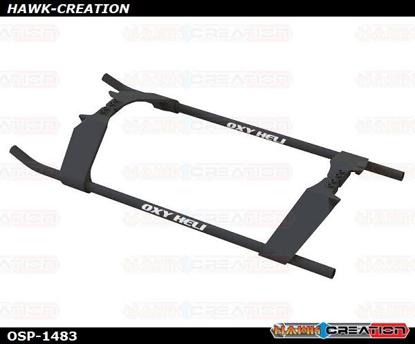 OXY5 - Nitroxy 5 Plastic Landing Gear Black