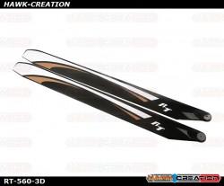RotorTech RT-560-3D Main Blades