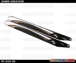 RotorTech RT-610-3D Main Blades