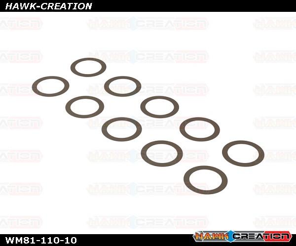 OXY5 WM81-110-01 OXY5 - Washer 8.1X11 W0.1, 10 pcs