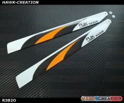 RJX  RAZOR  Orange  382mm Premium CF Blades-FBL Version