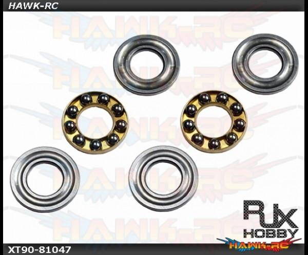 RJX Trust Bearing 8X16X5 x2 (for all helis)
