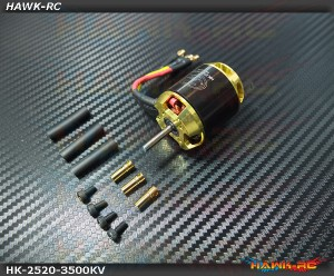 Scorpion HK-2520-3500Kv Motor (3.5mm Shaft)