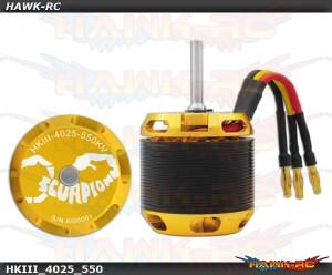 Scorpion HKIII-4025-550KV (6mm)