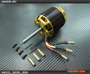 Scorpion HKIII 5035-500KV 8MM XL