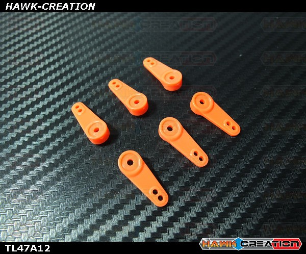 Gear Protect Servo Horn for DS410M/416M/430M/450M/emax9256 / ServoKing DS-999+(Orange,6pcs)