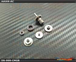 ServoKing DS-999 Complete Servo Gear Set (Include Bearings)