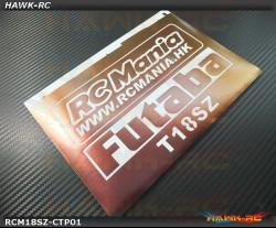 FUTABA 18SZ Protector Wraps Symphony Copper/Purple  (FREE Upper & Screen Protector)