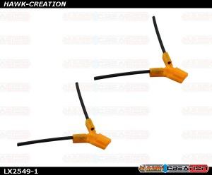 LYNX - TPU - Antenna Holder Type B, Orange Color