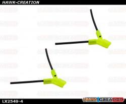 LYNX - TPU - Antenna Holder Type B, Yellow Color
