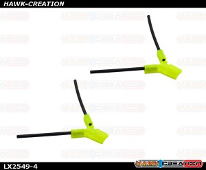 LYNX - TPU - Antenna Holder Type B, Yellow Color