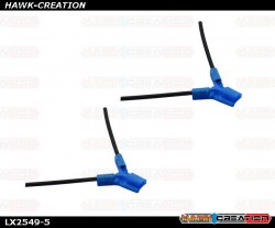 LYNX - TPU - Antenna Holder Type B, Blue Color