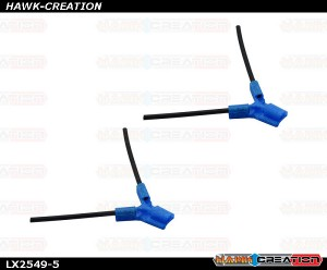 LYNX - TPU - Antenna Holder Type B, Blue Color