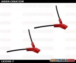 LYNX - TPU - Antenna Holder Type B, Red Color
