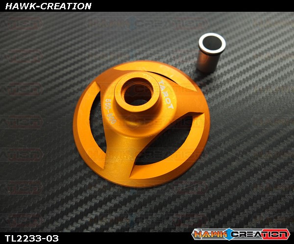 Tarot 550-800 Swashplate Leveler (Orange, 10/12mm)