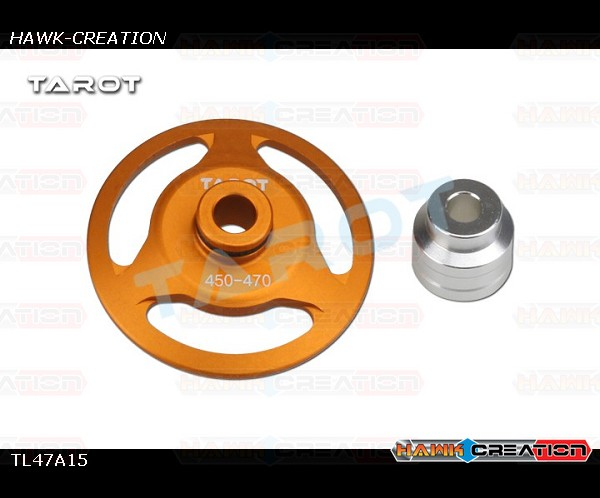 Tarot 470 Swashplate Leveler Tools TL47A15 (Orange/ For 5mm,6mm main shaft / GAUI X3)