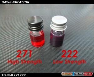 High 271 & Low 222 Strength Thread Locker Set