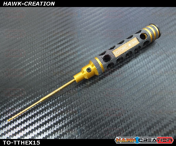 1.5mm Hex Driver With Light Weight Handle Design