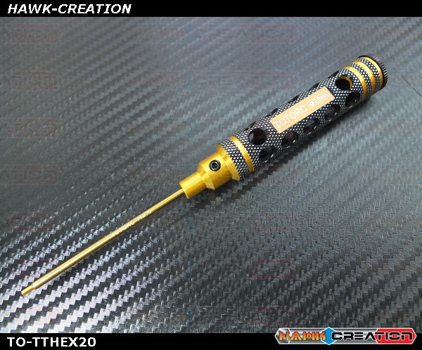 2.0mm Hex Driver With Light Weight Handle Design