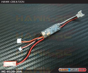 Hawk Creation 20A ESC V3 (BLHeli) For Walkera V120