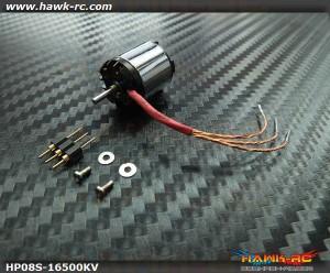 Hawk Creation HP08S 1S 16500KV Outrunner