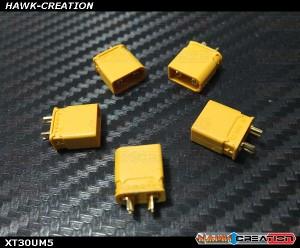 XT30 Plug  x 5 Pcs Male