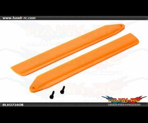 Hi-Performance Main Rotor Blade Set Orange: 130 X