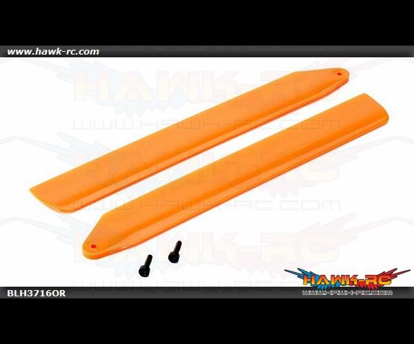 Hi-Performance Main Rotor Blade Set Orange: 130 X