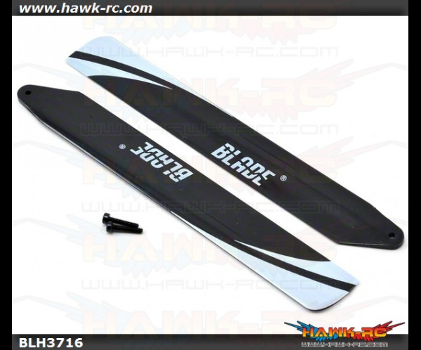 Hi-Performance Main Rotor Blade Set: 130 X