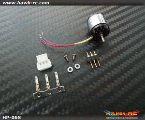 Hawk Creation HP06 V2 8200KV 2S Outrunner +11T