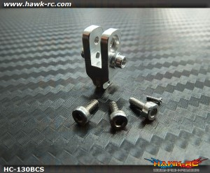 Hawk Creation CNC Boom Clamp Silver For 130X