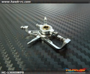 Hawk Creation CNC CCPM Swashplate (Silver) For 130X