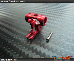 Hawk Creation CNC Rotor T-Hub (Red) For 130X