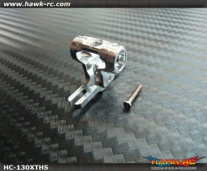 Hawk Creation CNC Rotor T-Hub (Silver) For 130X