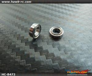 4*7*2 Japan Bearing Set For 130X/180CFX Main Shaft (2pcs)