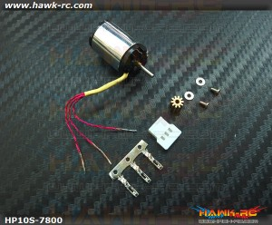 Hawk Creation HP10S V2 2S 7800KV Outrunner +10T