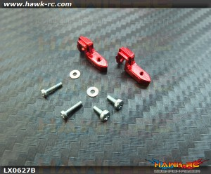 LYNX Universal Rotative Tail Servo Support (Red Devil) 130 X