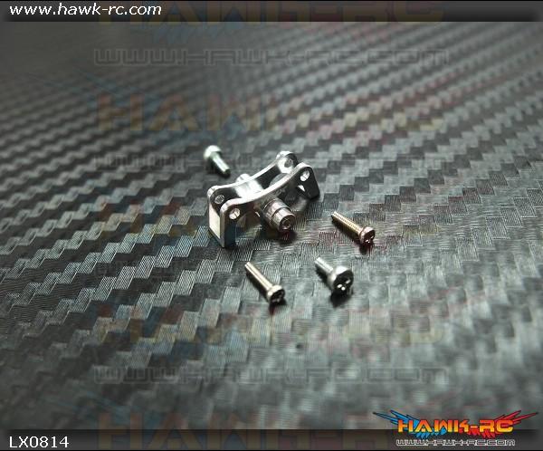 LYNX Tail Boom Clamp V2 For CF Push Rod - 130X