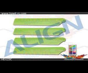 120 Main Blades-Green - T-REX 150 DFC