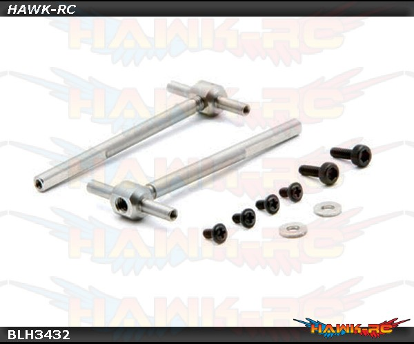 Tail Shaft and Hub: 180 CFX