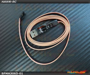 AS3X Programming Cable - USB Interface -  180CFX