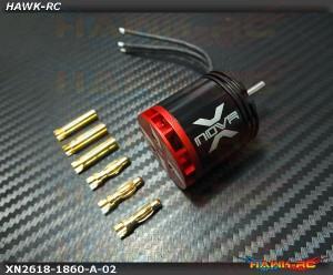 XTS-Xnova 2618-1860KV-10P Shaft A